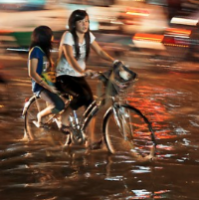 Flood in Ho Chi Minh City