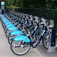 Barclay's Cycle Hire in London